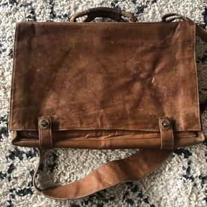 Other - Vintage Leather messenger bag